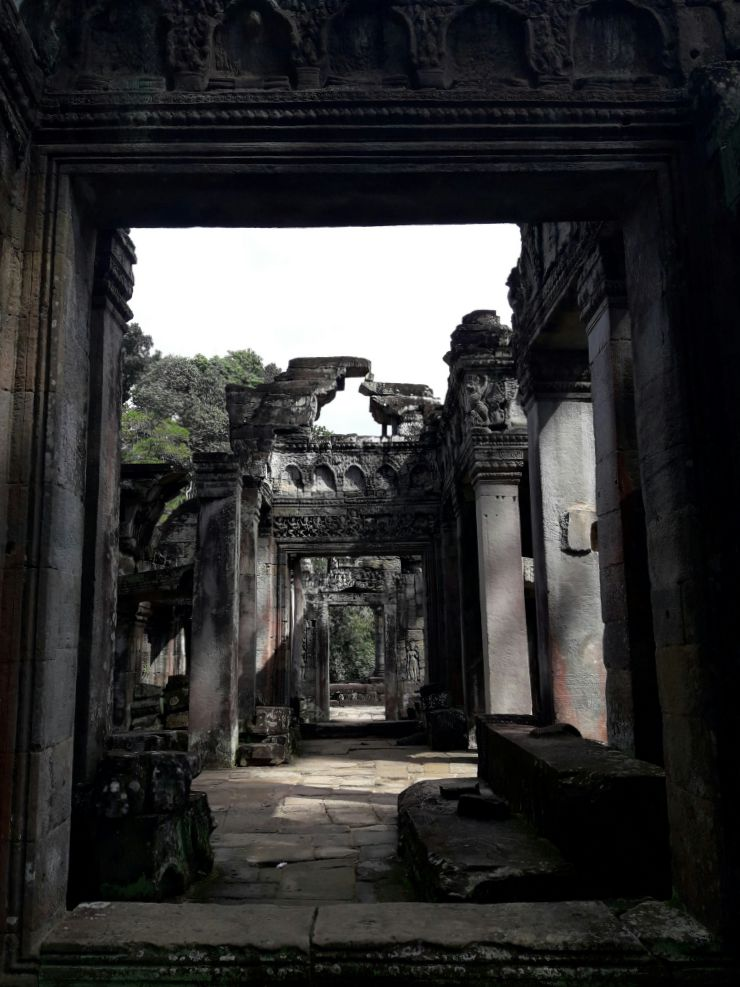 Temple ruins in Angkor Wat | Wanderlust Movement