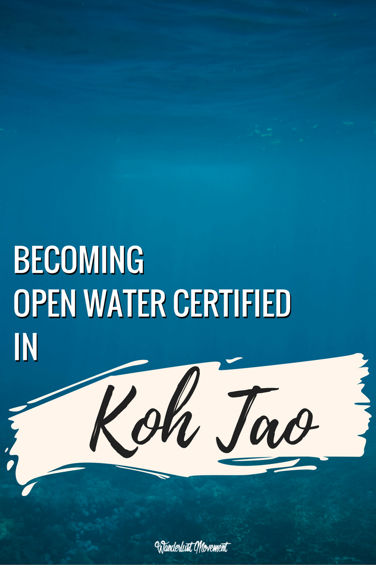 Facing My Fear At The Bottom of the Ocean: Becoming Open Water Certified | Wanderlust Movement
