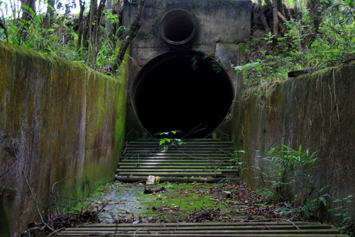 Creepy storm drain | Wanderlust Movement