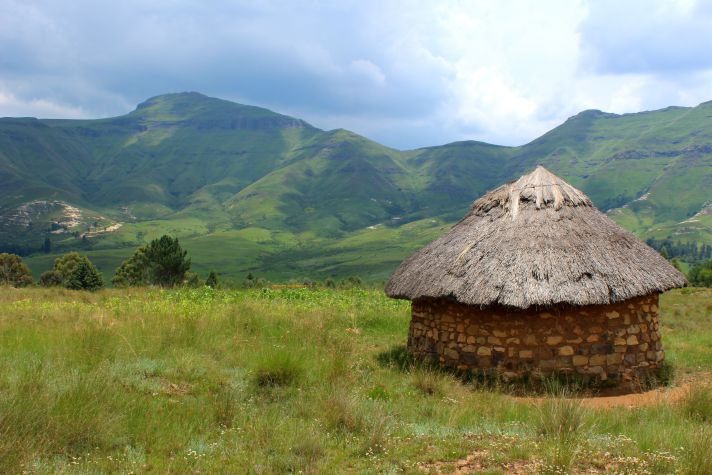 Hut in Lesotho  | Wanderlust Movement