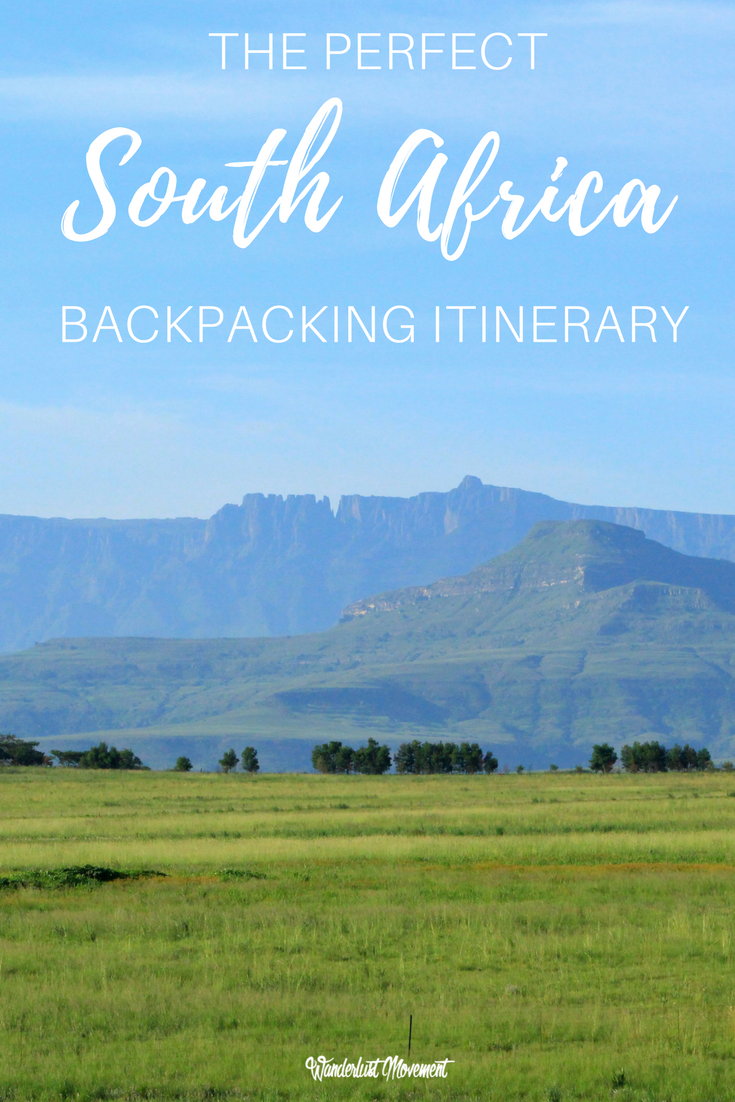 Backpacking South Africa Alone: The Perfect One Month Itinerary | Wanderlust Movement