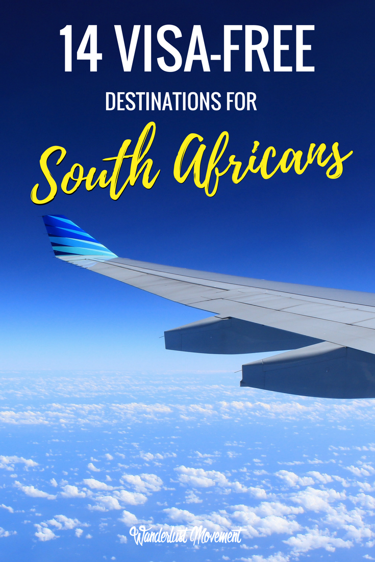 14 Unique Visa-Free Destinations for South Africans in 2017 | Wanderlust Movement