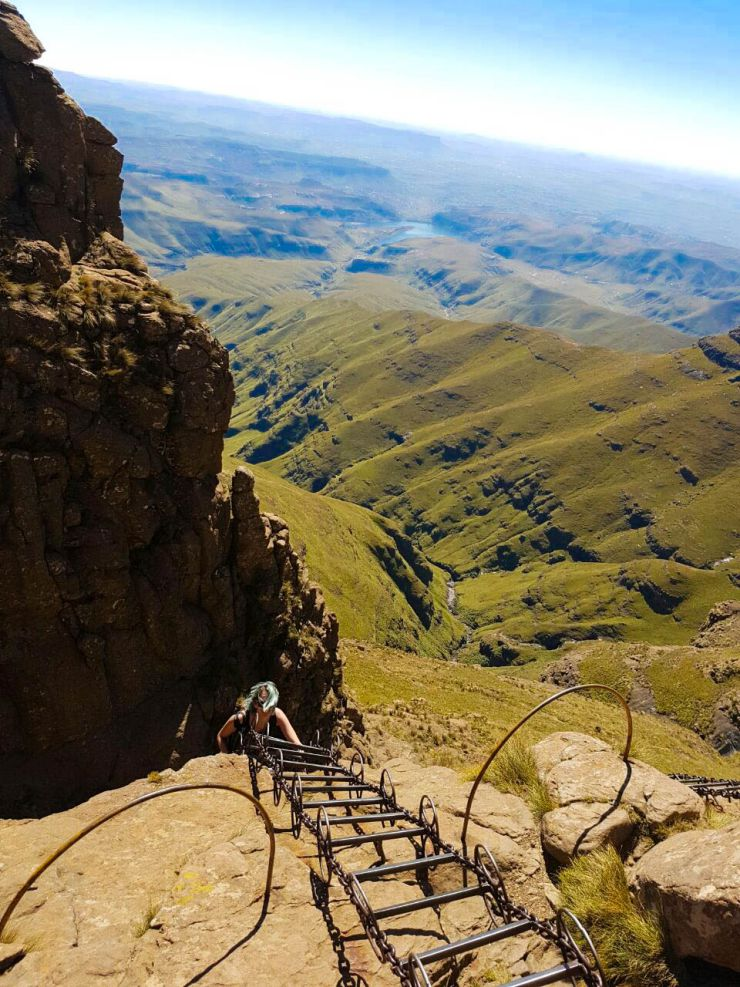 Tugela Falls Hike with Chain Ladders in the Drakensberg | Wanderlust Movement