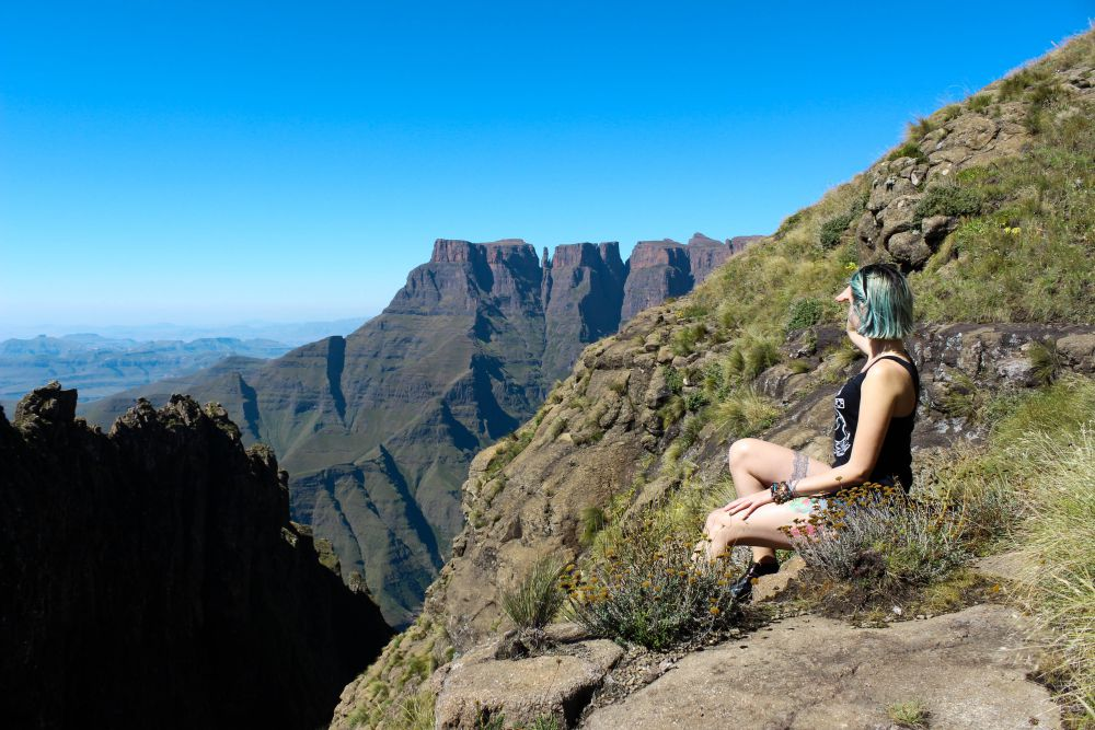 Lookout Point on the way to Tugela Falls | Wanderlust Movement