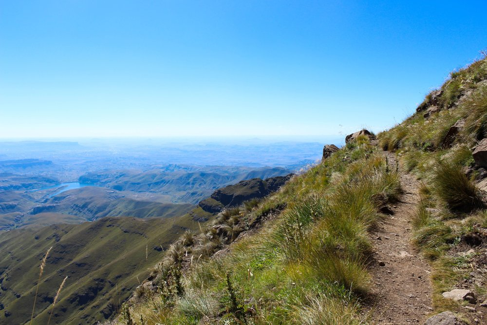 Views of the Drakensberg below | Wanderlust Movement