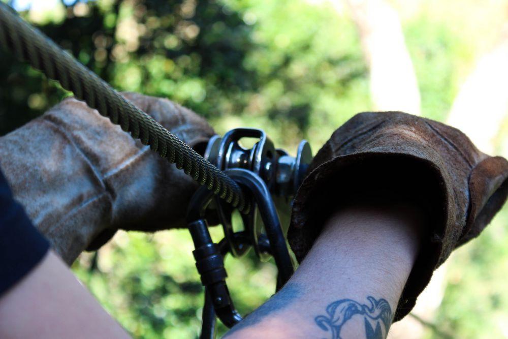 Ziplining at Drakensberg Canopy Tour | Wanderlust Movement