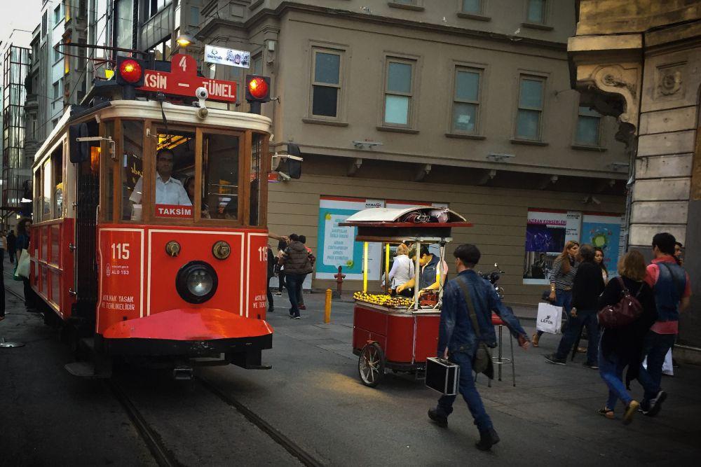 Istanbul famous tram   Wanderlust Movement