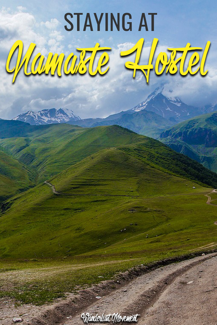 Checking in: Namaste Hostel Tbilisi, Georgia