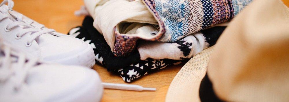 Minimalist Backpacking Wardrobe
