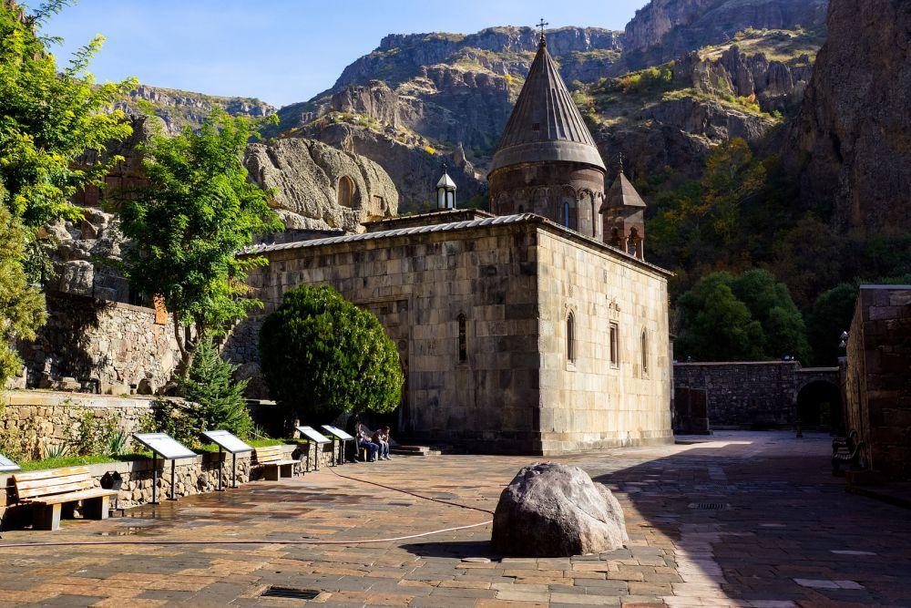 Geghard Monastery | Armenia | Wanderlust Movement