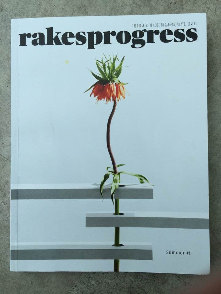 Rakesprogress magazine - my dogeared copy. But is a tenner too much for a gardening magazine?