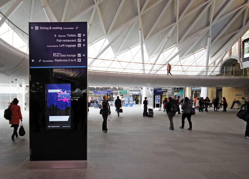 King's Cross ticket hall
