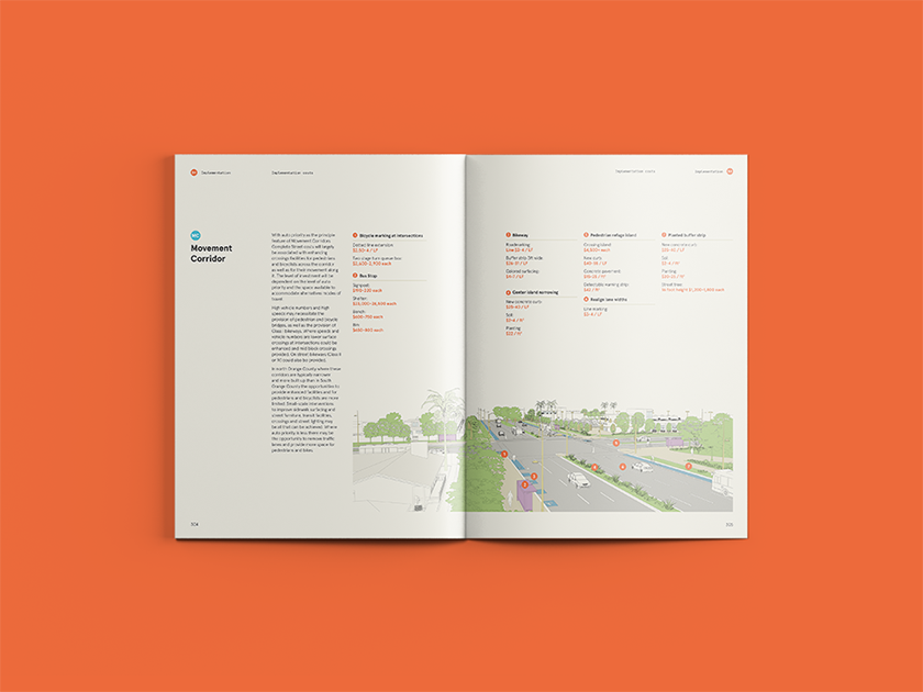 Example spread  Complete Streets Initiative Design Handbook