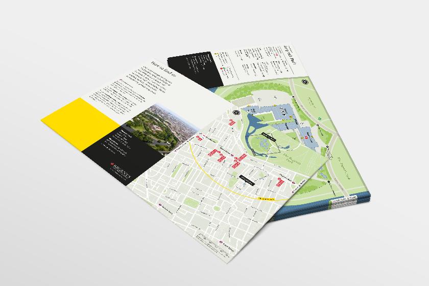 Handheld map