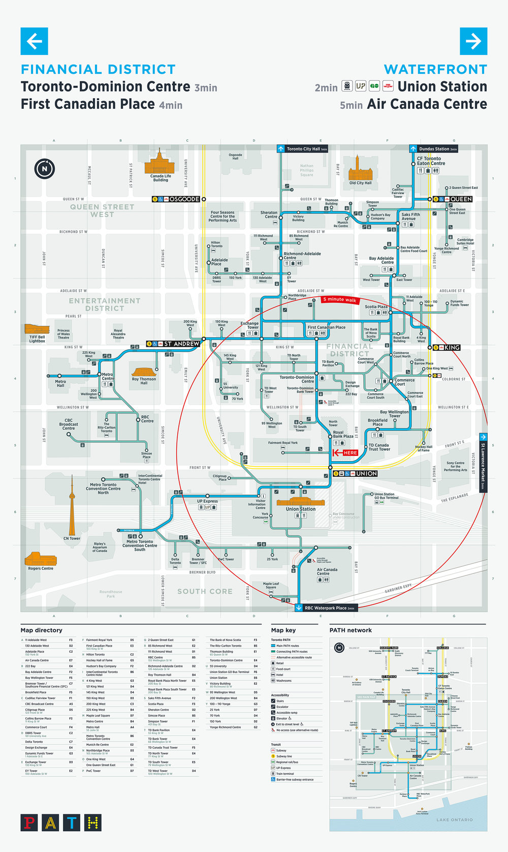 New schematic PATH map makes the network easier to navigate