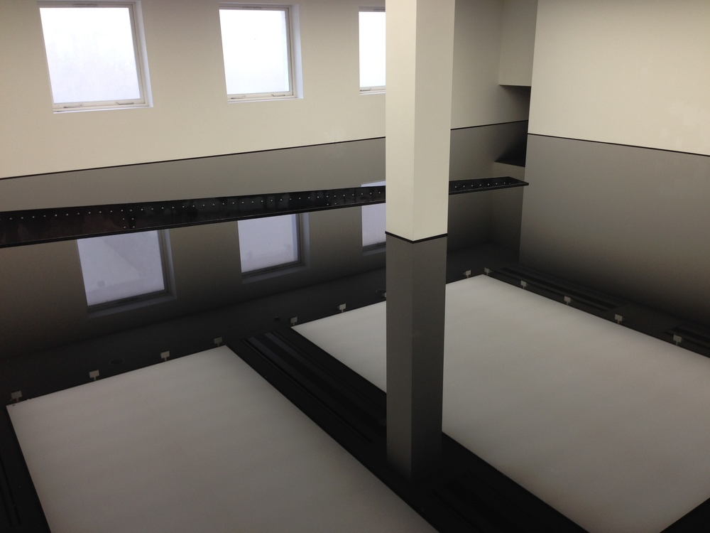 RICHARD WILSON 20:50, SAATCHI GALLERY
