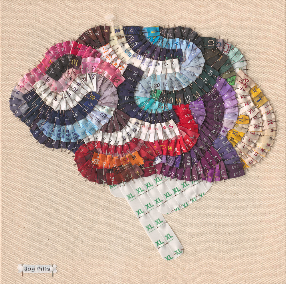 Joy Pitts. Lobes of the Brain with 321 garments.jpg