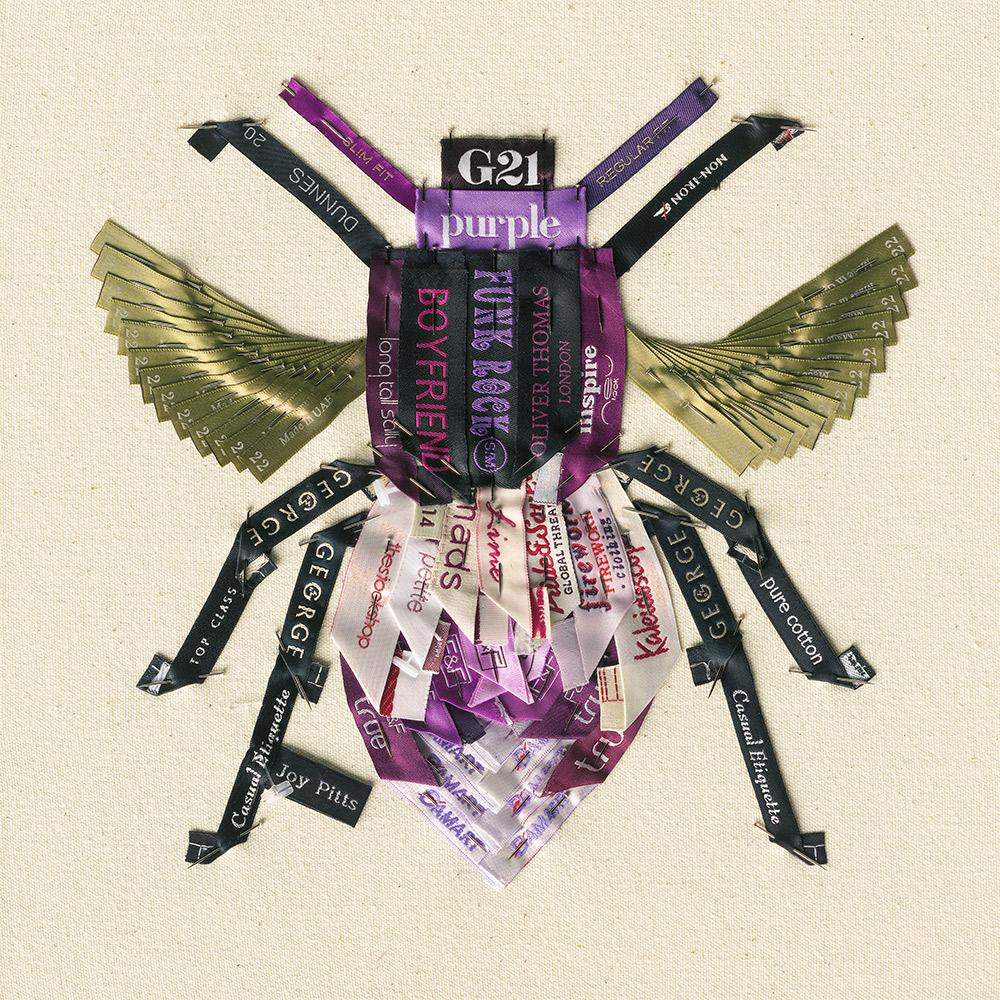 Purple Bee with 68 garments - Joy Pitts.jpg