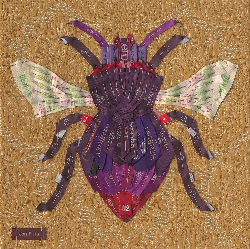 7. Purple Bee with 83 garments - Joy Pitts..jpg