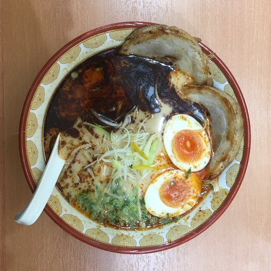 A life-changing bowl of ramen because now ramen will never be the same. ¥980