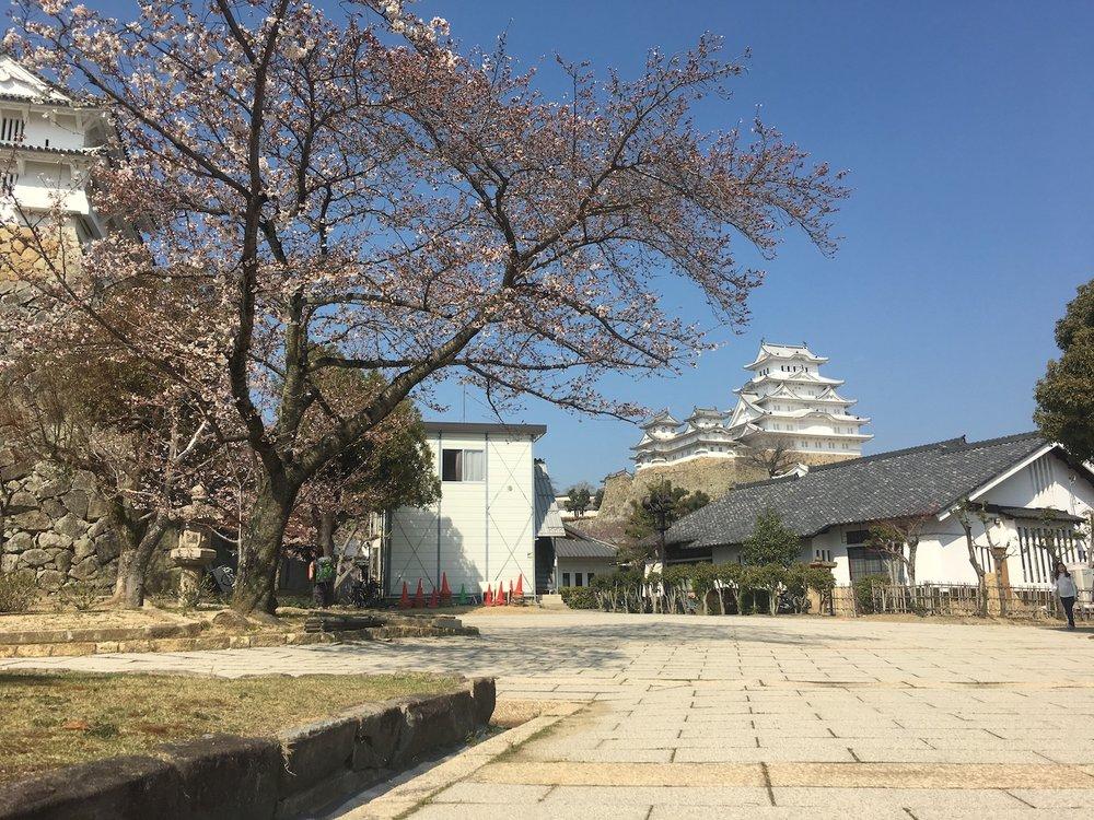 The White Castle at Himeji