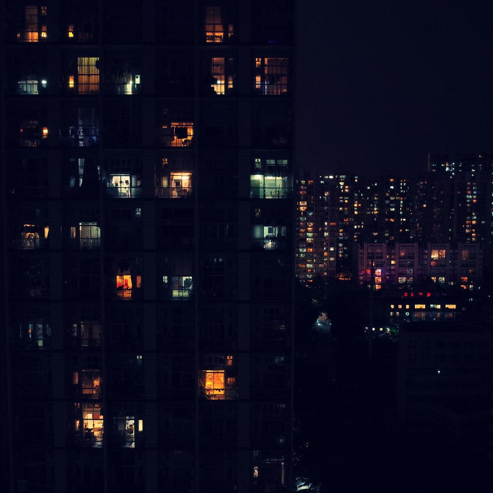 Guangzhou at night
