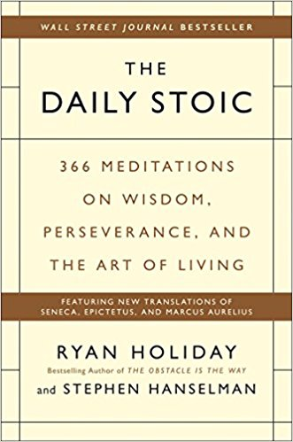 Stoicism is 50% of why I didn't quit entrepreneurship. I had unknowingly learned the lessons of the stoics when I was in survival camp at the recalcitrant age of 13.  Some lessons were branded into my psyche forever, but some were forgotten. I was reminded of those again on the summiting day of Mt. Kilimanjaro at the slightly less recalcitrant age of 15. Being weak and sick from the altitude, plus nearing frostbite on two of the toes of my left foot. Again, some lessons were branded forever, some forgotten. Finally, when I dropped out and was introduced to stoicism through Ryan Holiday and later the greats themselves (Seneca, Marcus Aurelius, Cato, Epictetus, etc.) I was reminded of the lessons lost, AND found a way to never forget them again. First reading the book above. Second reading the daily stoic newsletter every day. Third, and most importantly, doing the 5-minute journal (practicing gratitude) every day.