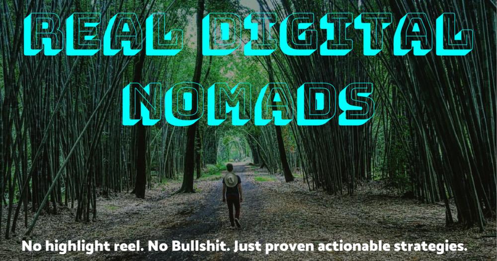 Real Digital Nomads - Facebook Group - Adrien Harrison of Echo Studio