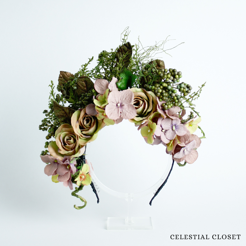 """Mirella"" Forest Crown"