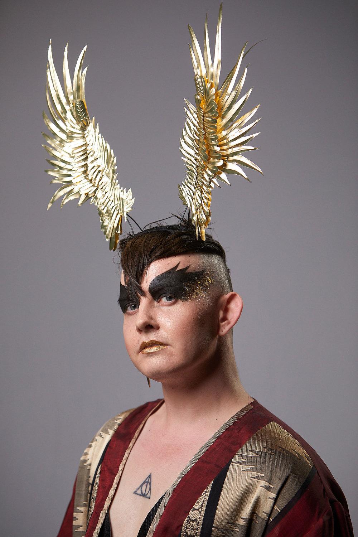 """""""Sokar"""" Falcon Headpiece"""