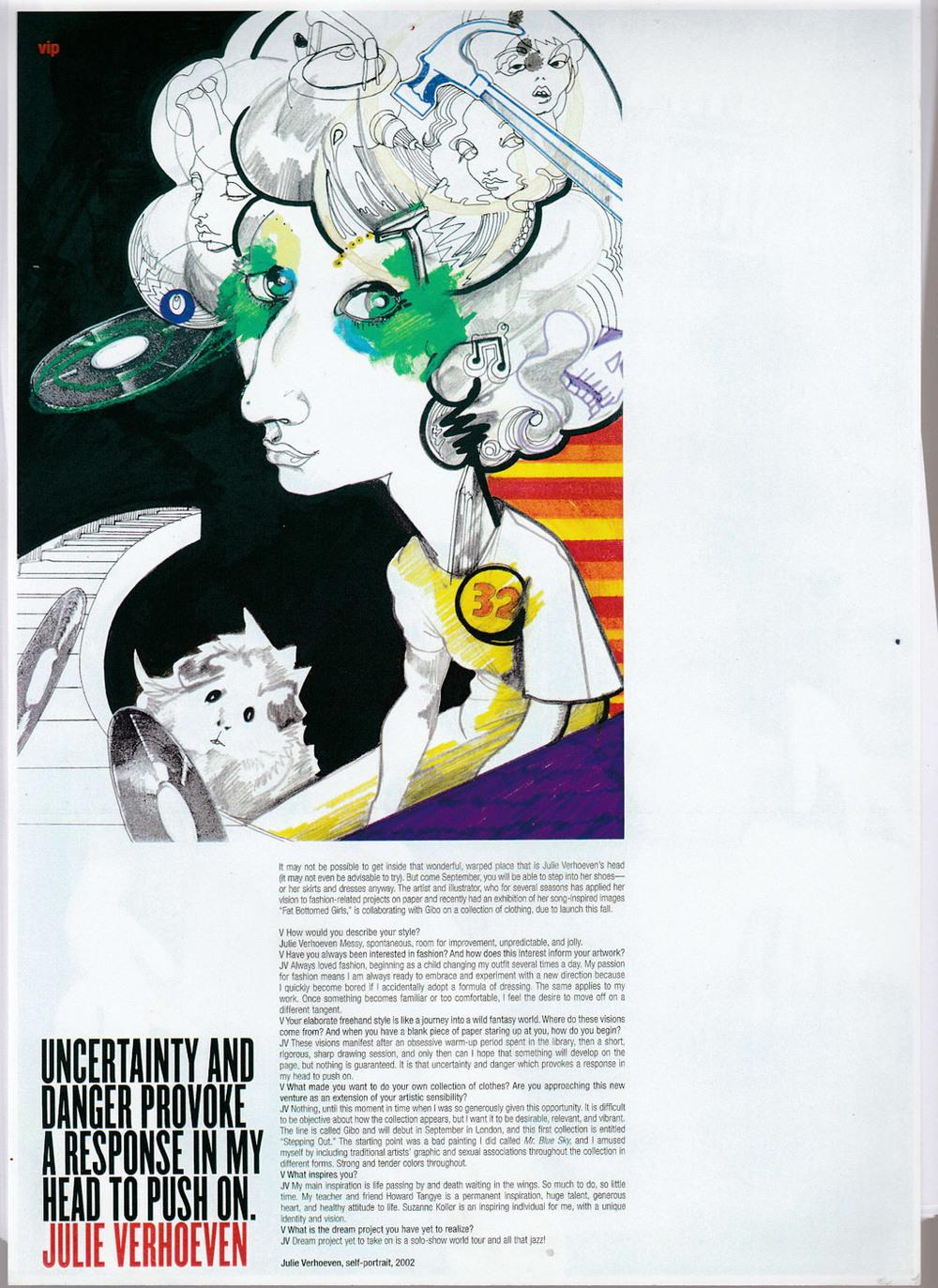 JulieVerhoeven_VMagazine2002