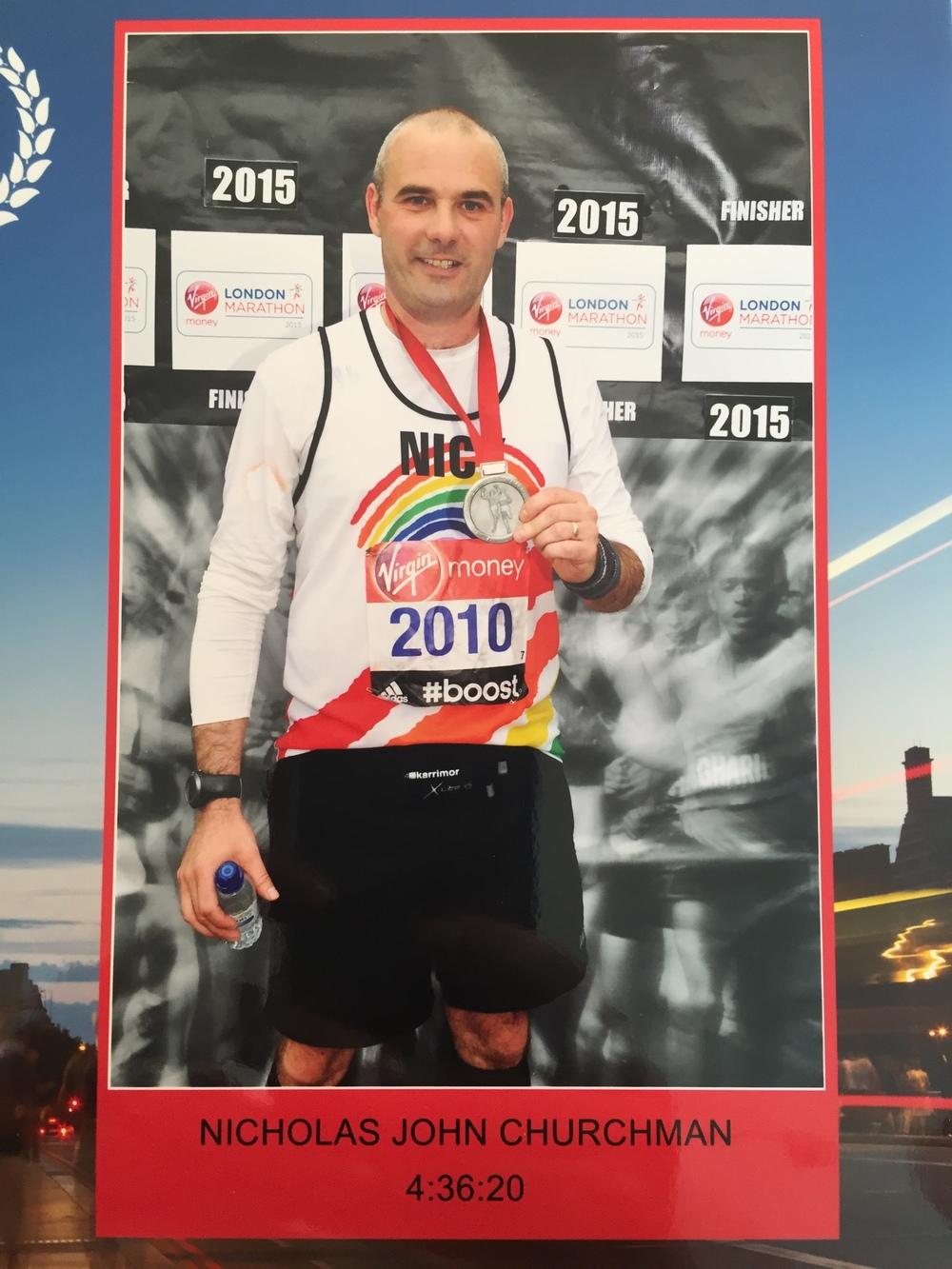 London Marathon JCW