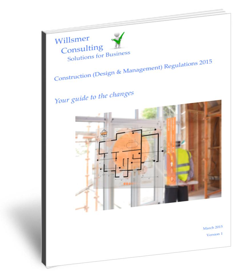 Read up on CDM Regulations here