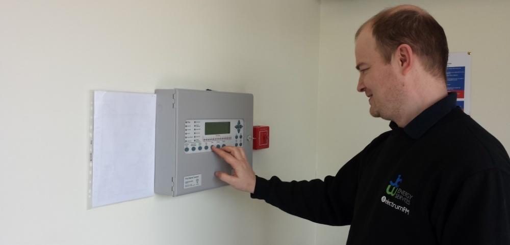 jcw fire alarm testing