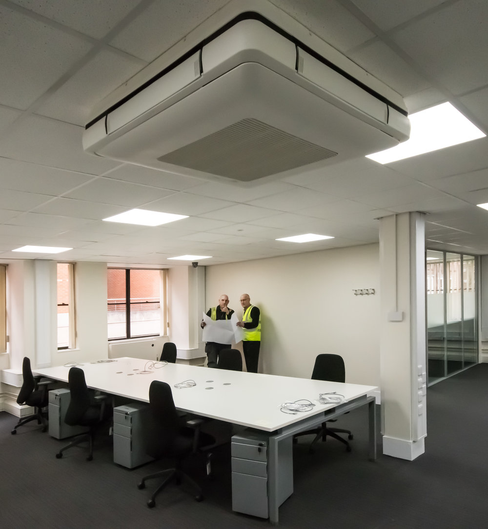 Leicester Mercury Refurbishment