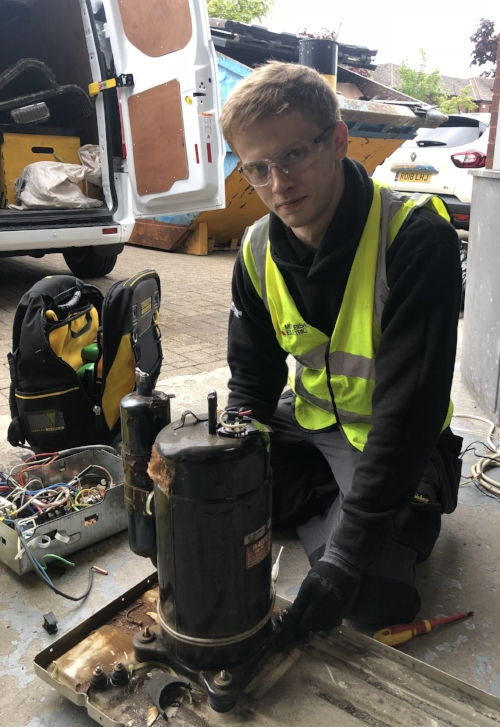 HVAC Engineer Apprentice Cain