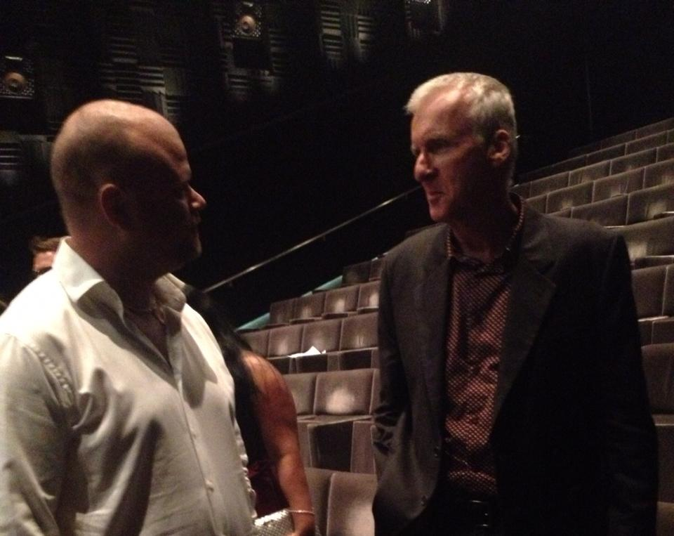 Chatting with James Cameron