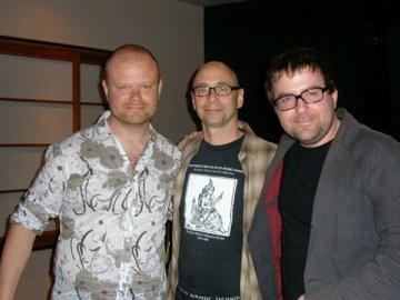 Me, Cold Case Composer Michael Levine and his assistant