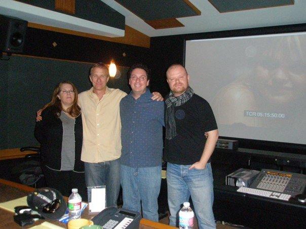 Laura Shapiro, David Mueller, Ben Zara and me