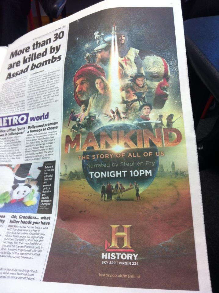 Ad for Mankind!