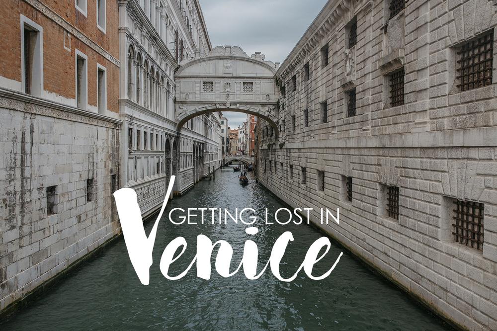 Bronwyn Townsend Getting Lost in Venice