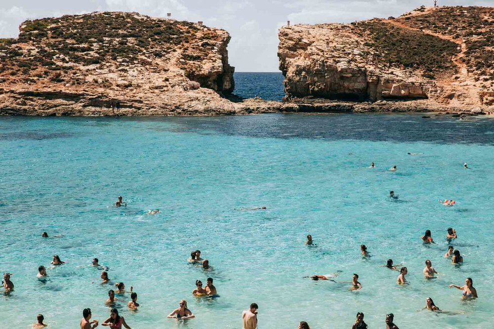 Bronwyn Townsend Malta Blue Lagoon Comino