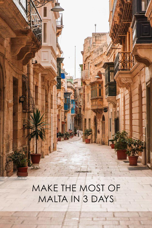 Malta in 3 days Bronwyn Townsend