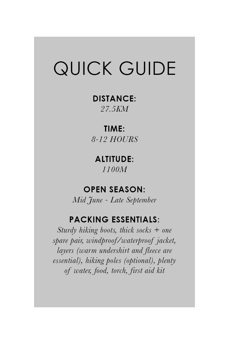 Bronwyn Townsend Trolltunga Quick guide