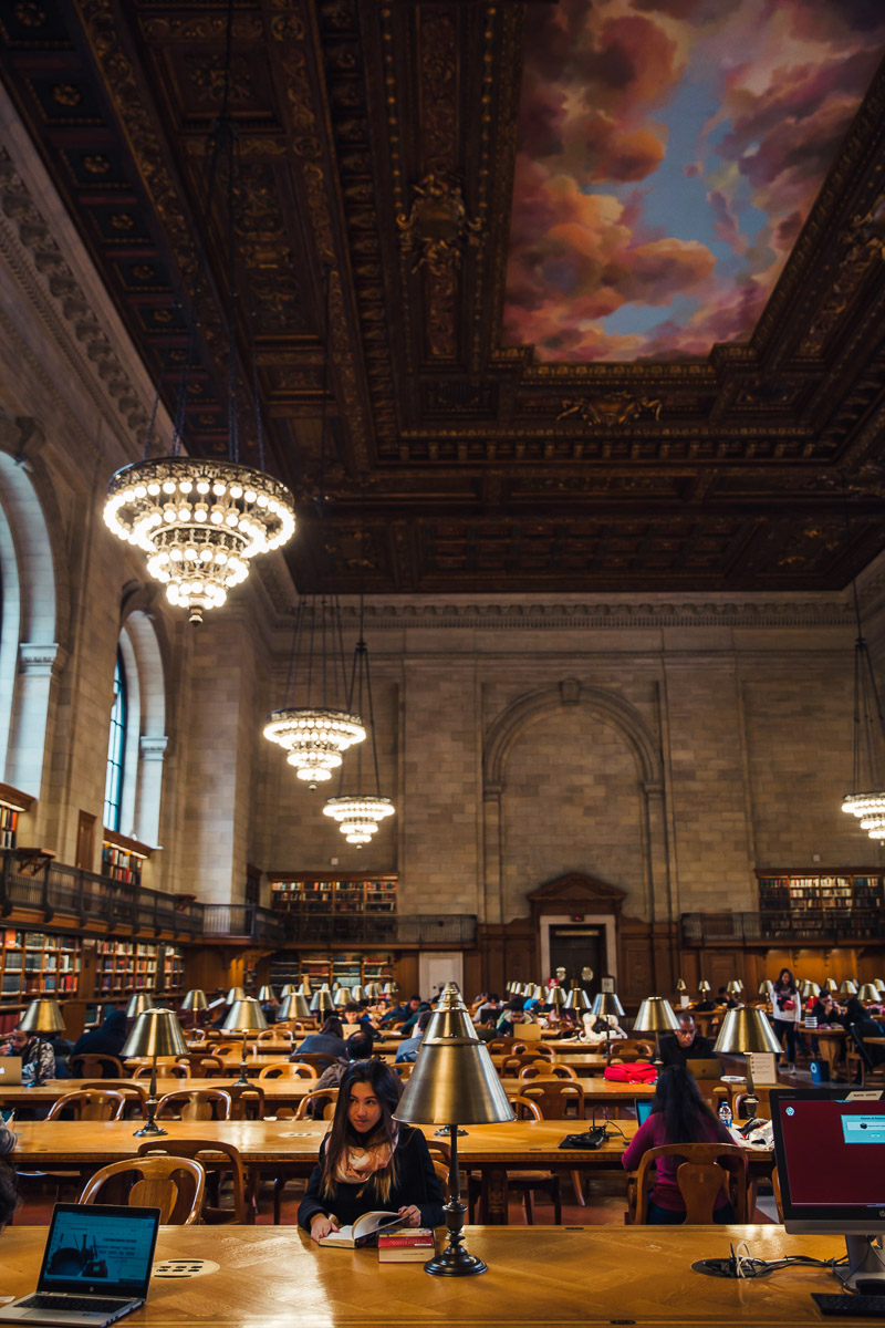 New York Library Bronwyn Townsend