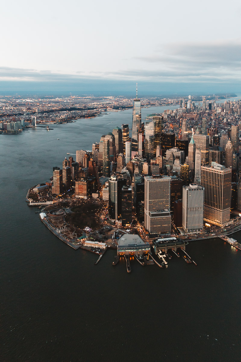 NYC from above Bronwyn Townsend