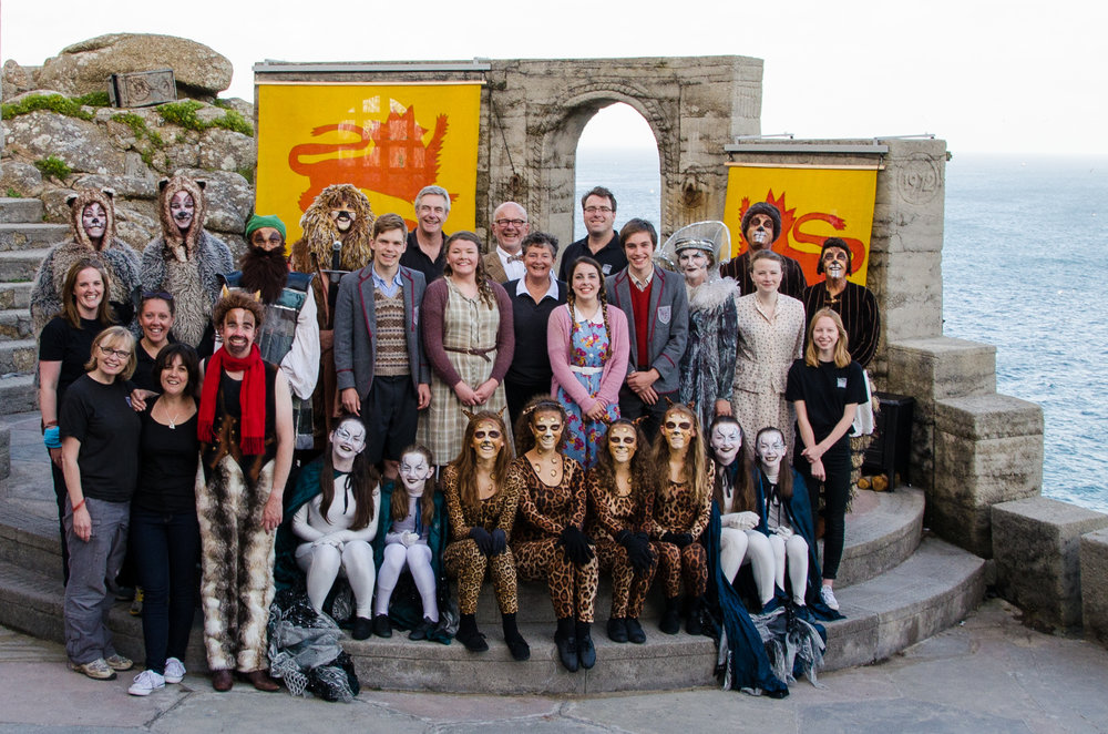 The cast and crew of The Lion, the Witch and the Wardrobe (2015)