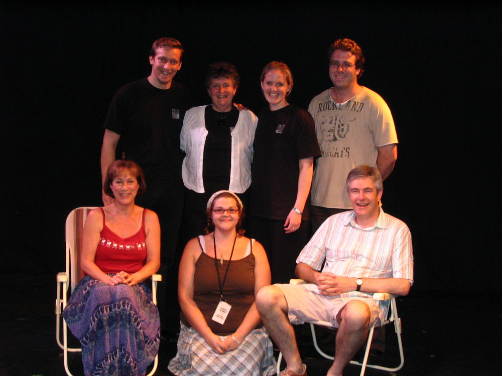 The cast and crew of Intimate Exchanges