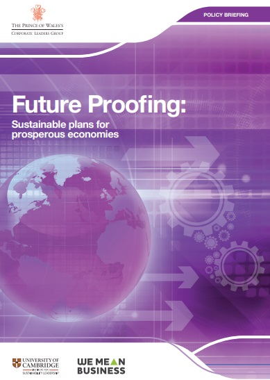 Future Proofing: Sustainable plans for prosperous economies