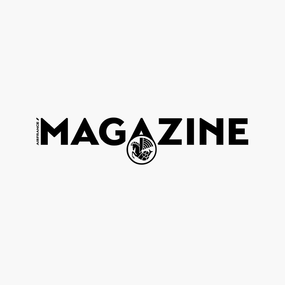 Très Air France Magazine, Logo — Funny Bones BA19